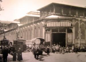 Mercado de San Miguel en 1910