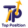 diseño web top position